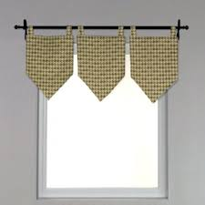 Tab Top Valance Buy Chooty Linen Natural Tab Top Valance 13 By 21 Inch In Cheap