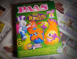 paas easter egg dye paas mini monsters easter egg kit dinosaur dracula