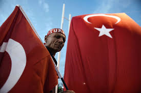 Turkey National Flag Turkey After The Coup Attempt