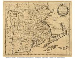 Massachusetts On Us Map by Prints Of Old Massachusetts State Maps