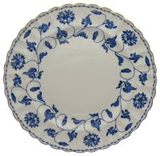 spode colonel blue gold dinner plate traditional dinner