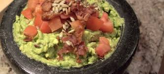 bacon sunflower seeds guacamole recipe with bacon and sunflower seedsfull thyme foodie