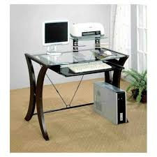 stupendous glass office table ikea modern computer desk glass