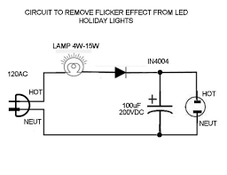 a flicker free fix for led holiday lights 3 steps