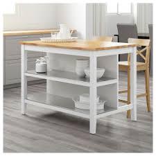 ilo de cuisine stenstorp îlot pour cuisine blanc chêne 126x79 cm ikea