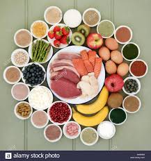 super food for body builders with lean meat fruit dairy dietary