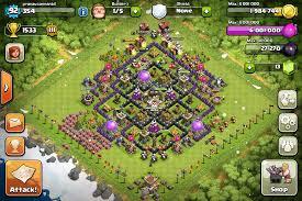 coc layout builder th8 the crop circle a th8 farming base