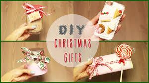 Homemade Christmas Gifts by Diy 5 Easy Diy Christmas Gift Ideas Ilikeweylie Youtube