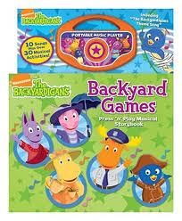 backyardigans backyard games book ruth koeppel jason