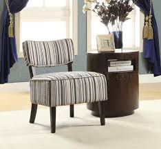 Orson Chair Orson Accent Chair 1191f1s Set Of 2 Striped Fabric Homelegance