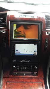 cadillac escalade radio escalade with a custom dash 7 inch screen with din