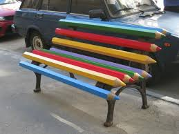Design For Outdoor Wooden Bench by Creative Benches Garden Furniture Design Ideas For Modern Outdoor