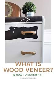 how to wood veneer furniture what is wood veneer and can it be refinished three coats