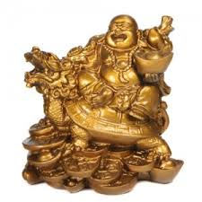 what is the significance of turtle with happy buddha in