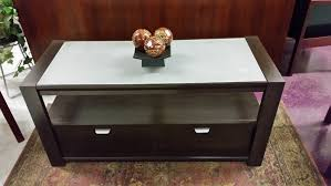 frosted glass coffee table 14 5 x48 frosted glass top coffee side table for reception area