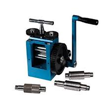 rolling mill jewelers high grade tool 5 rollers new