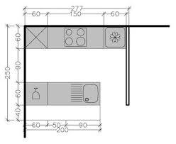 exemple plan de cuisine 8 plans de cuisine parallèle à différentes solutions