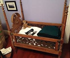 should one repurpose an antique crib for parts