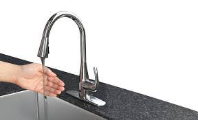 bio bidet touchless single handle pull down faucet with motion