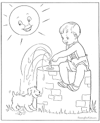 puppy dog coloring sheets