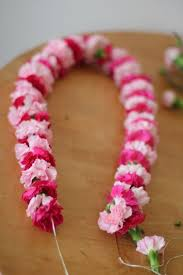 flower leis how to make a flower pinteres