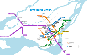 Red Line Map Montreal U0027s All New Above Ground Metro