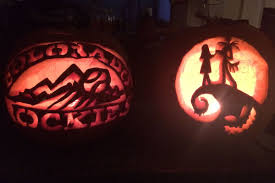 here u0027s how you should not carve a colorado rockies pumpkin for