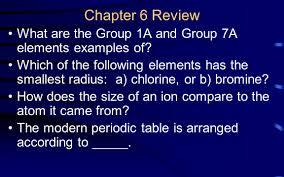 how does the modern periodic table arrange elements chapter 9 review states of matter ppt video online download