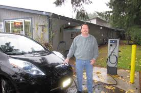 nissan leaf used seattle 11 months 36 000 miles in a nissan leaf electric car no problem