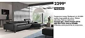 lambermont canapé meubles lambermont promotion canapé 3pl chaise longue produit