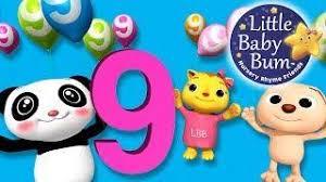 10 9 8 7 6 5 4 3 2 1 nursery rhymes original song