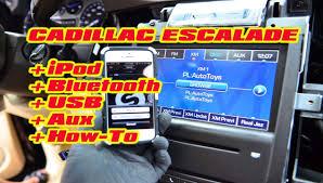 cadillac escalade radio cadillac escalade iphone bluetooth usb android isimple connect mp3