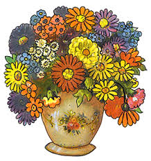 Flowers In Vases Pictures Flowers In Vase Clip Art Flowers In Vase Clipart Photo
