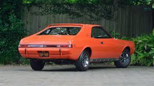 bright orange cars 1969 amc big bad javelin sst s97 dallas 2016