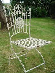 French Style Patio Furniture by French Style Garden Chair X 2 Bliss And Bloom Ltd