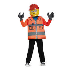 construction worker costume lego iconic construction worker classic child costume