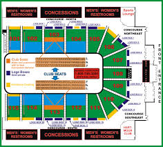 United Center Seating Map Find Your Seat Hartman Arena