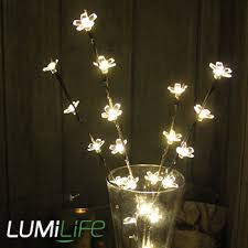 decorative branches with lights lumilife led indoor decorative branch light battery powered