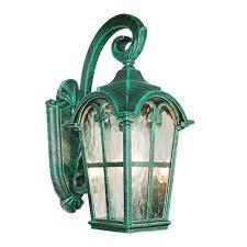 verde green outdoor wall light victorian collection verde green finish outdoor wall lantern with