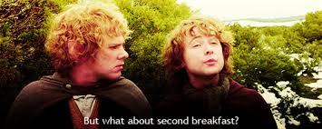 Second Breakfast Meme - hobbit second breakfast tumblr