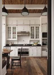 rustic kitchen cabinets with glass doors gorgeous floors and cabinets farmhouse kitchen design