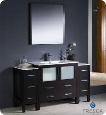 60 Vanity Cheap Bathroom Top Modern Vanity Set Mid Century And Stool Brown With