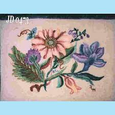 antique china pattern antique china floral rug hooking pattern seaside rug hooking company