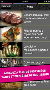 cuisine tv plus doctissimo tv on the app store