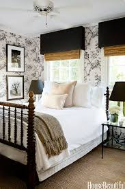 Black Damask Wallpaper Home Decor 30 Cozy Bedroom Ideas How To Make Your Bedroom Feel Cozy