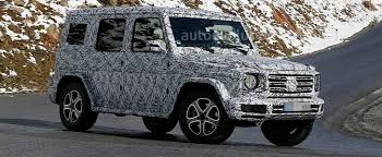 images of mercedes g wagon 2018 mercedes g class sees gets ready for winter testing