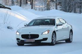 maserati blue 2017 2017 maserati quattroporte facelift spied with little disguise