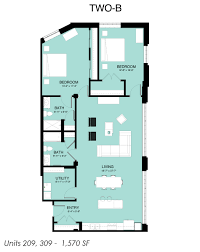 2 Bedroom Floor Plans by Floorplan2 Twob Jpg