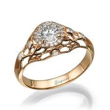 gold art rings images Art deco gold engagement rings wedding promise diamond jpg