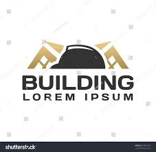 construction helmet vector icon engineering architecture stock